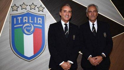 Roberto Mancini rinnova con l'Italia