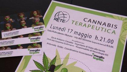 Cannabis terapeutica, serata pubblica con testimonianza alla sala polivalente di Murata
