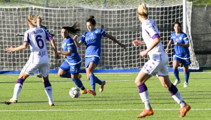 Femminile: San Marino - Fiorentina anticipa a sabato alle 12:30