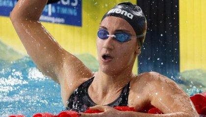 Europei: Simona Quadarella vince l'oro negli 800