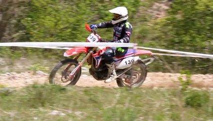 Enduro Marche, per la TGE vittoria di classe di Monaldi e 16° assoluto di Brisigotti