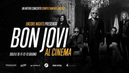 I Bon Jovi in concerto al cinema