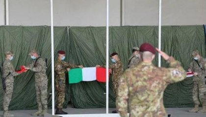 L'Italia ammaina la bandiera in Afghanistan
