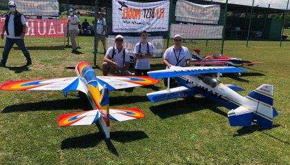 Coppa Italia del campionato Cisalpino di acrobazia radiocomandata: Aerobatic Team di San Marino, protagonista