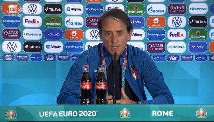 """Mancini: """"Italia pronta. Peccato l'Olimpico per soli 15 mila"""""""