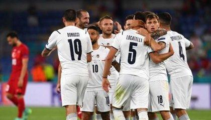 Italia spettacolo all'esordio all'Olimpico: 3-0 alla Turchia