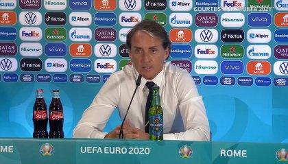 """Mancini: """"Non abbiamo fatto giocare la Turchia, grande partita dei ragazzi"""""""