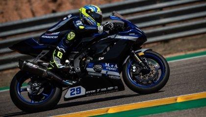 Misano, Bernardi secondo in Gara1. In Superbike vince Rinaldi