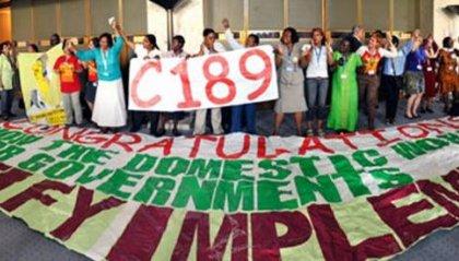 Le lavoratrici e i lavoratori domestici continuano a lottare per l'uguaglianza e il lavoro dignitoso