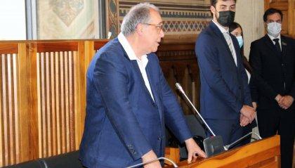 Il restauratore, storico dell'arte e professore universitario Bruno Zanardi è stato ricevuto in udienza dagli Eccellentissimi Capitani Reggenti