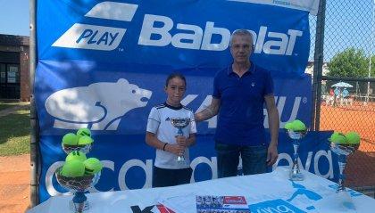Tennis: Serena Pellandra trionfa nel Kinder Trophy