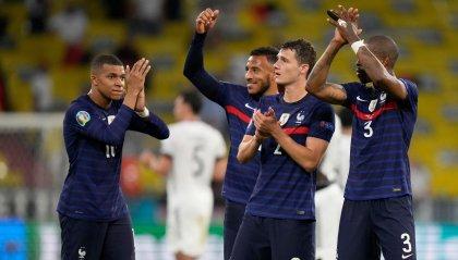Francia batte Germania 1-0, stasera Italia-Svizzera. Ronaldo supera il record di reti nelle fasi finali dell' Europeo