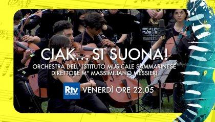 """""""Ciak...si suona!"""", domani sera il concerto Ims su San Marino Rtv"""