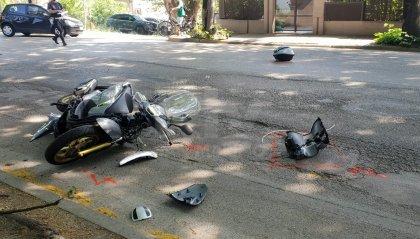 """Scontro auto-scooter a Riccione, uomo elitrasportato al """"Bufalini"""""""