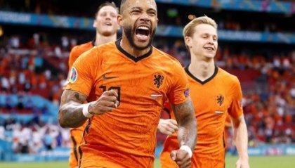 Europei, l'Olanda agli ottavi di finale