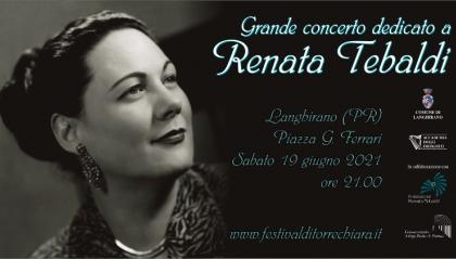 """Langhirano presenta il """"grande concerto dedicato a Renata Tebaldi"""""""