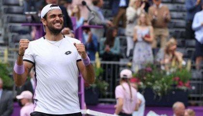 Con la vittoria al Queens Berrettini entra nella storia del tennis