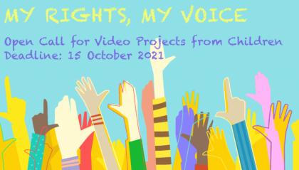 """Bando di concorso """"My rights, my voice"""" sui diritti dell'infanzia"""