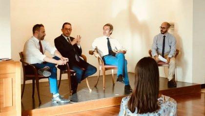 Il Sen. Pittella chiude la Mostra sui Padri fondatori dell'UE