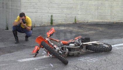 Gualdicciolo: scontro fra auto e moto, minorenne all'ospedale