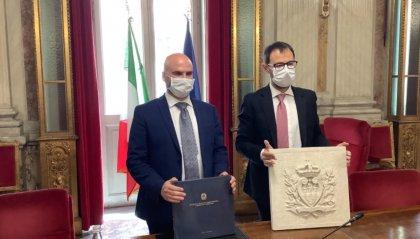 """Bilaterale Canti - Patuanelli: """"Grande disponibilità per una collaborazione proficua"""""""