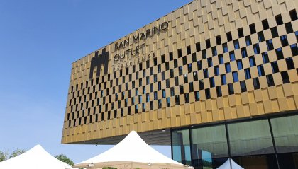 San Marino Outlet Experience, oggi l'inaugurazione