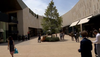 Taglio del nastro per San Marino Outlet Experience: da oggi aperto al pubblico. LE IMMAGINI