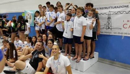 Nuoto Pinnato: Domus San Marino vince il triangolare sul Titano