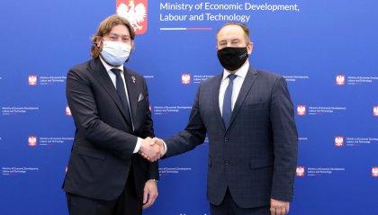 "Turismo, Pedini Amati incontra l'omologo Andrzej Gut-Mostowy: ""Polonia partner strategico"""