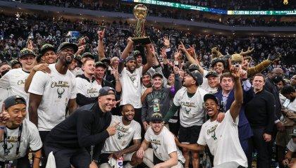 Milwaukee Bucks campioni NBA 2020-21