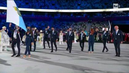 Aperti i Giochi di Tokyo 2020, San Marino sfila per 76'