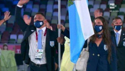 Olimpiadi: San Marino ha sfilato coi suoi cinque atleti, la Reggenza ricevuta dall'Imperatore