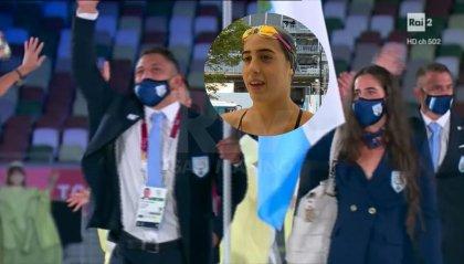 """Valloni: """"Peccato l'assenza di pubblico, è stato un onore portare la bandiera di San Marino"""""""
