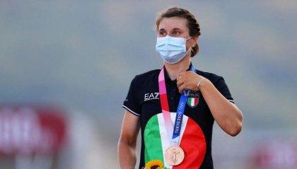 Ciclismo femminile:  Longo Borghini è bronzo