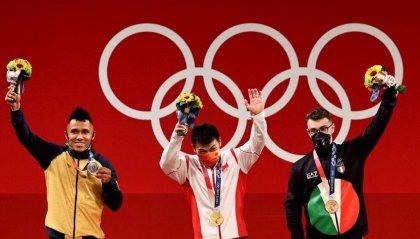 Mirko Zanni bronzo nel sollevamento pesi