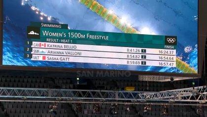 Arianna Valloni seconda ma senza lode