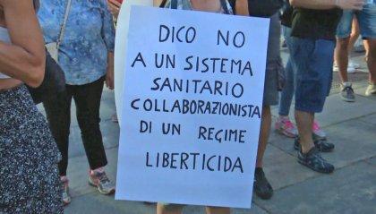 """La ministra dell'Interno Lamorgese: """"Manifestazioni no vax non autorizzate, monitoriamo"""""""