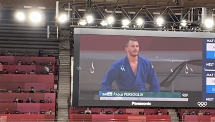 Judo: Persoglia resiste 20 secondi al numero 2 al mondo