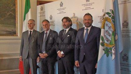 Il Ministro Garavaglia e il Segretario Pedini Amati siglano un Memorandum d'Intesa per rafforzare la collaborazione