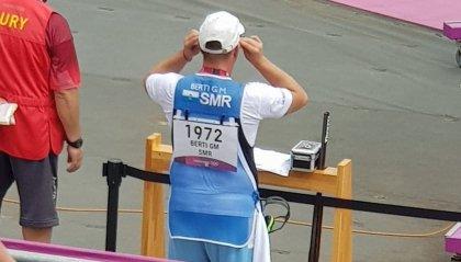 Berti disputa una grande Olimpiade ma non basta