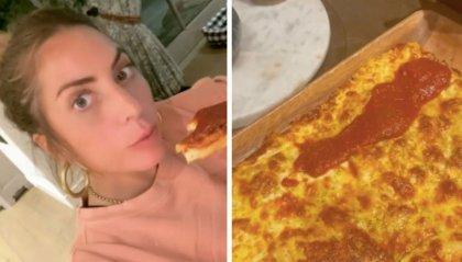 Lady Gaga non passa la prova pizza