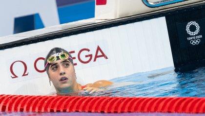 Arianna Valloni sesta nella batteria 800 metri stile libero