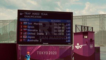 Berti - Perilli in finale nel mixed team primo e secondo posto