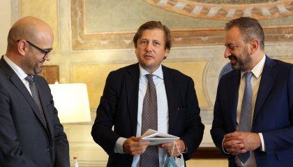 Il Sottosegretario Pierpaolo Sileri incontra i Segretari di Stato Luca Beccari e Roberto Ciavatta