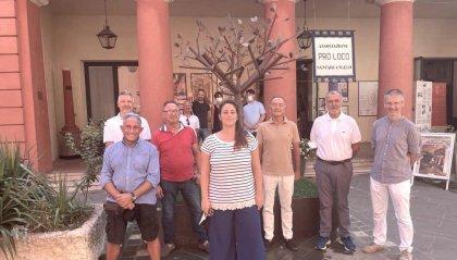 Santarcangelo: nuovo basamento per il ciliegio dedicato a Tonino Guerra