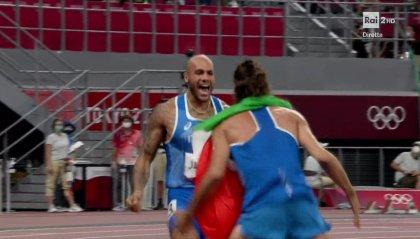 Capolavoro Italia: Tamberi e Jacobs d'oro in salto in alto e 100 metri