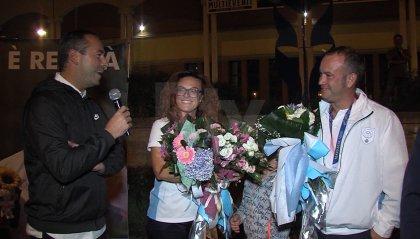 San Marino abbraccia le sue stelle: bagno di folla per Perilli e Berti