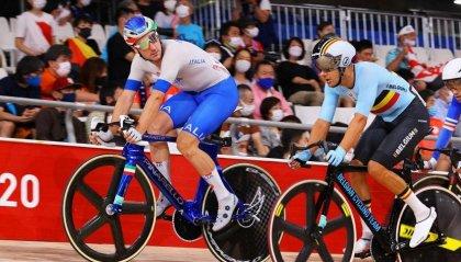 Ciclismo su pista: bronzo per Elia Viviani nell'Omnium