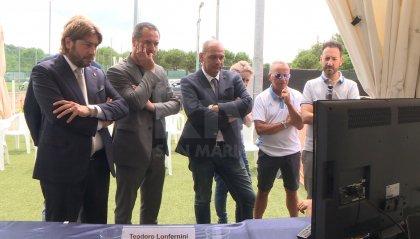 Una TV e tifo scatenato: così San Marino ha festeggiato il bronzo di Myles
