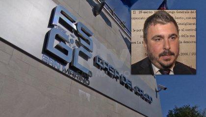 Bufera FSGC; Il consigliere Matteo Rossi invita a tutelare l'immagine di San Marino